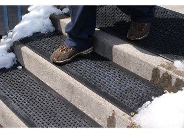 Industrial Heated Stairway Mats